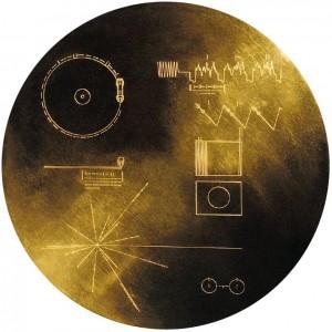 Disco de oro de las Voyager