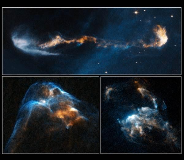 Una vista sin precedente de los chorros supersónicos liberados por  estrellas jóvenes   Cosmo Noticias