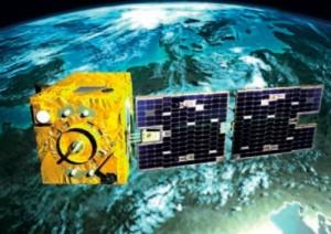 Ilustración artística de SSOT en órbita. Crédito: Arianespace.