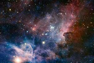 Panorama de la Nebulosa de Carina tomado en luz infrarroja usando la cámara HAWK-I del VLT. Crédito: ESO/T. Preibisch.