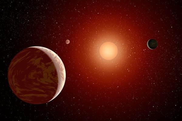 Resultado de imagen de Estrellas enanas rojas