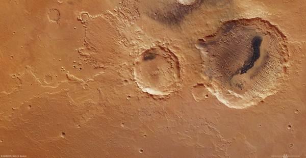 Un cráter de Marte muestra cómo cambió el clima del ...