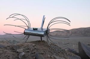 El rover Dandelion del equipo chileno Angelicvm. Crédito: Team Angelicvm.