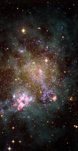 La galaxia enana irregular IC1613. Crédito: G. Pérez y M. García.