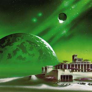 Un planeta se eleva en el horizonte de una luna habitada por una civilización extraterrestre. Crédito: Frank Lewecke.