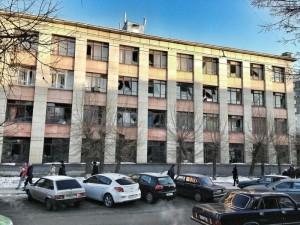 Edificio meteoritos Rusia