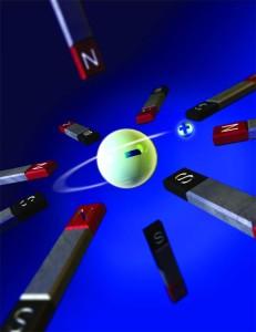 La antimateria se refiere a partículas subatómicas que tienen propiedades opuestas a las de las partículas normales. Crédito: Katie Bertsche.