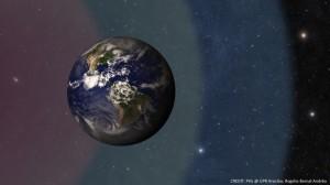 La Tierra y la zona habitable