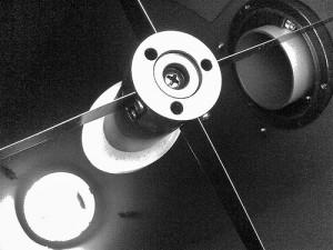 Espejo secundario de telescopio