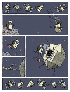 Reparación espacial robótica