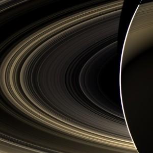 Venus visto desde Saturno