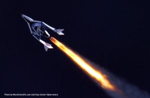 Vuelo supersónico de SpaceShipTwo