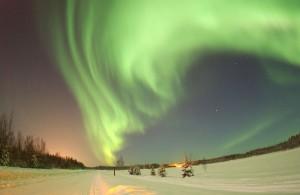 Aurora sobre Alaska