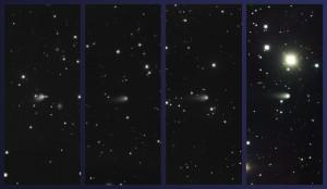 Cometa ISON, fotografías de Gemini