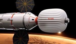 'Nave espacial de la Mars Foundation'