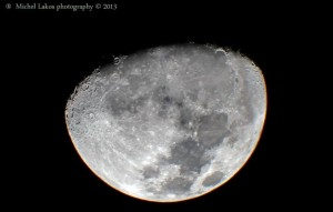 Luna gibosa