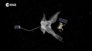Misión basura espacial