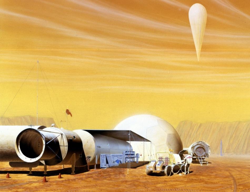 Misión tripulada Marte 1993