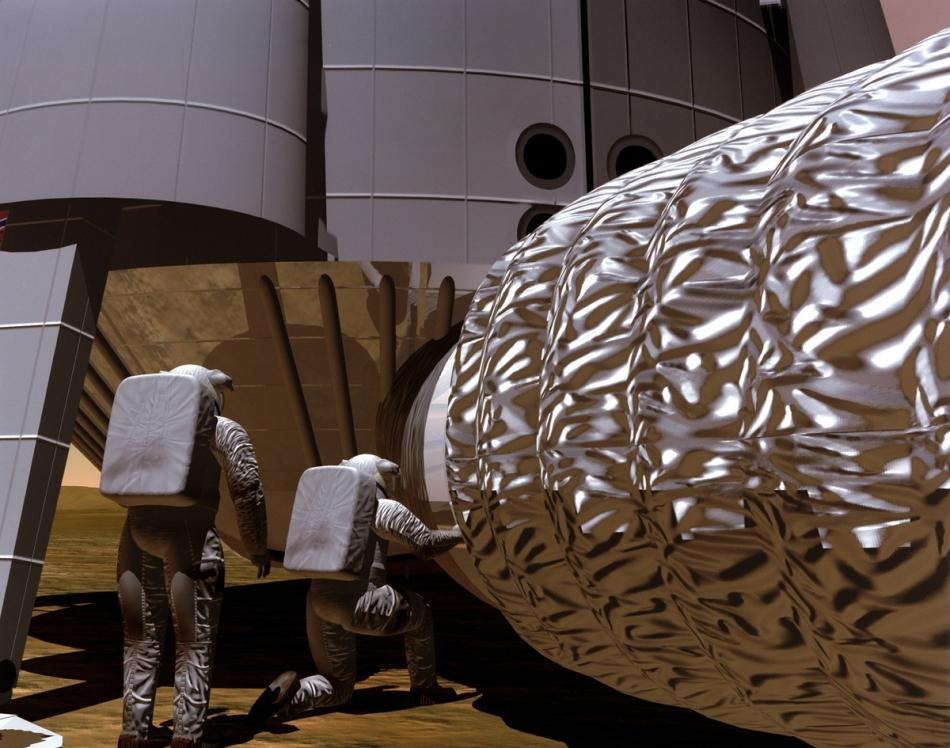 Misión tripulada Marte 1997