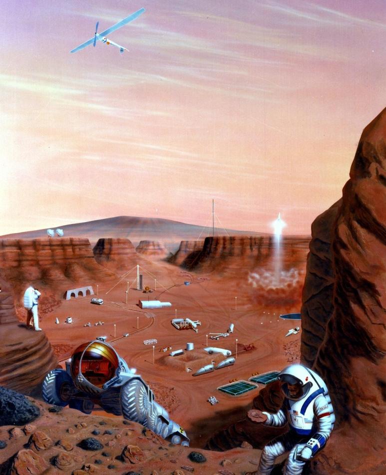 Misión tripulada Marte 1985