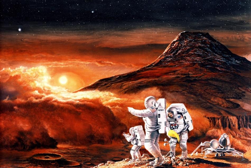 Misión tripulada Marte 2019