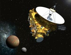 New Horizons, Plutón y lunas