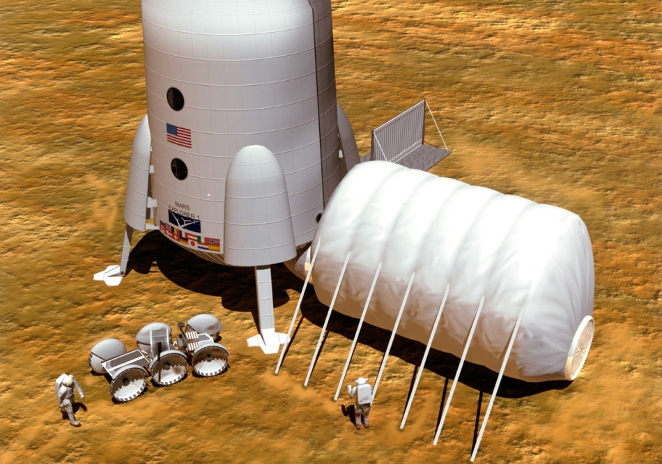 NASA обнародовало подробный план высадки на Марс
