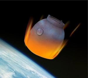 Reentrada cápsula Shenzhou