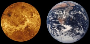 Venus y Tierra