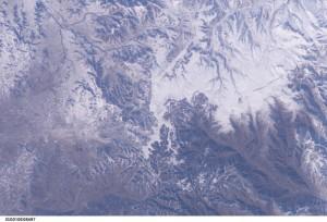 Gran Muralla China desde el espacio