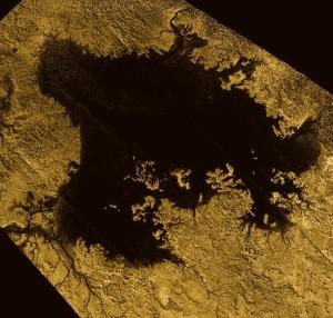 Ligeia Mare en Titán