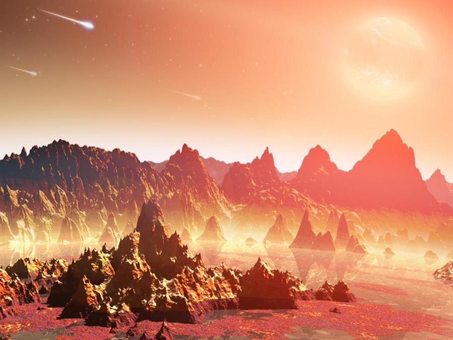 Planeta joven alrededor de una estrella fría