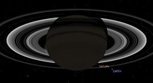 Posición Saturno Tierra, 19 de julio de 2013