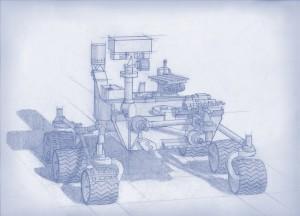 Rover que NASA lanzará en 2020