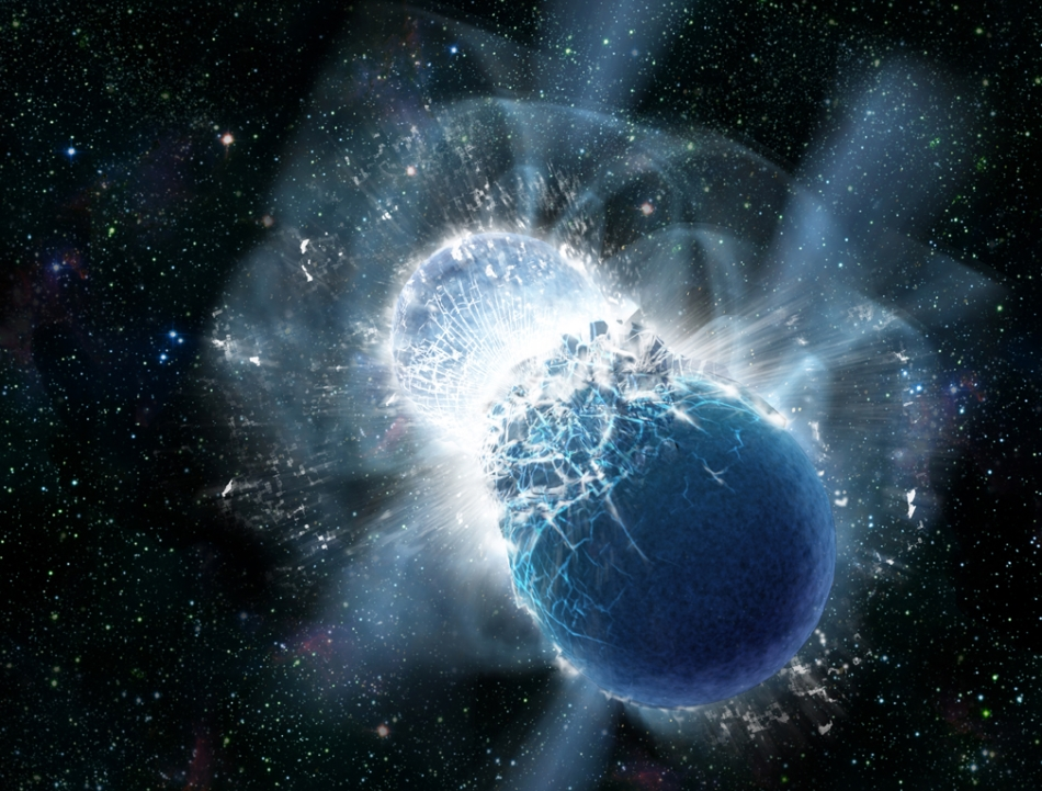 Ahora sabemos como es una colisión de estrellas de neutrones