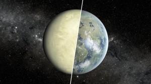 Súper-Venus y súper-Tierra