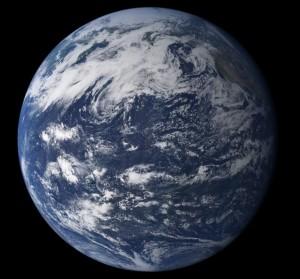 Tierra, océano Pacífico