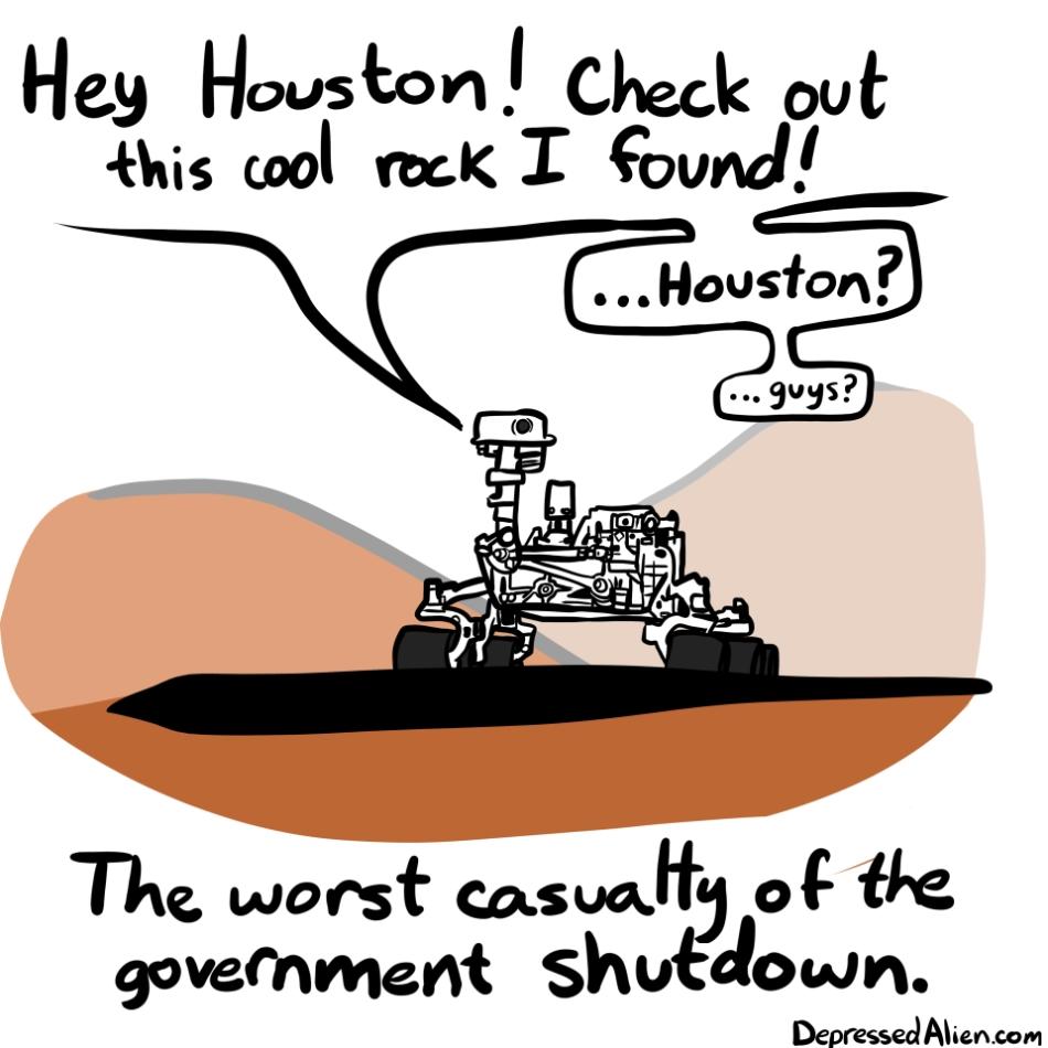 Curiosity - Shutdown