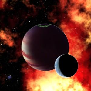 Exoplaneta y exoluna