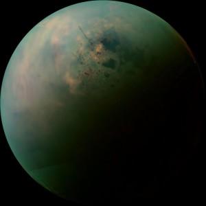 Lagos y mares de Titán