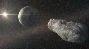 Asteroide 2012 DA14 y Tierra