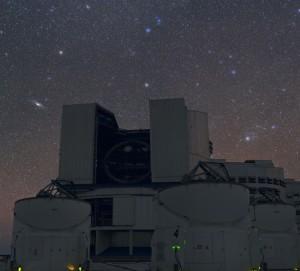 Galaxias Messier 31 y 33 y VLT