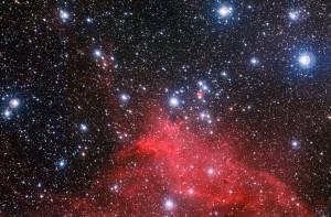 Cúmulo NGC 3572 y entorno
