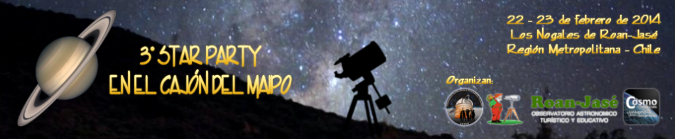 III Star Party en el Cajón del Maipo