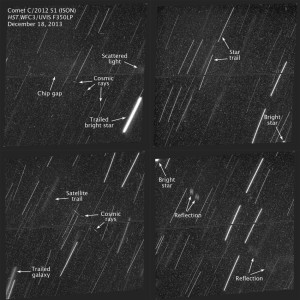 Hubble no encuentra a ISON