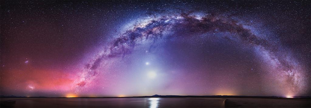 De la Cruz del Norte a la Cruz del Sur y Vía Láctea