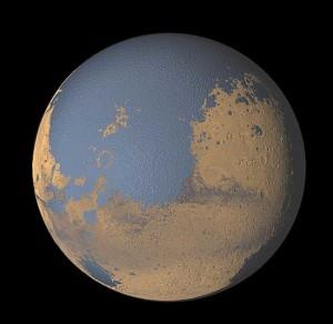 Océanos de Marte