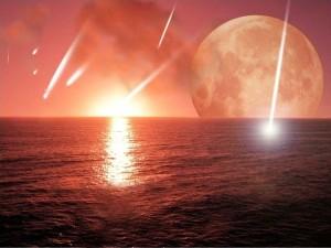 Impacto de meteoritos en la sopa primordial