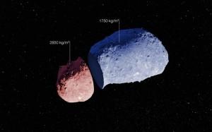 Esquema asteroide Itokawa