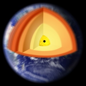 Tierra con agujero negro